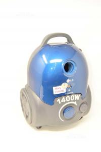 Aspirapolvere 1400 W Marca LG Modello V-CP243RDB Colore Blu Con Accessori