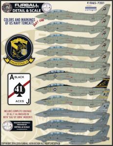 Grumman F-14A Tomcats part 1