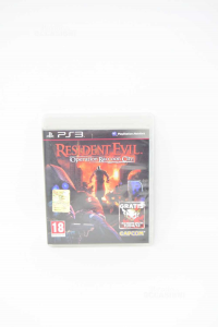 Video Game Ps3 Resident Evil Operation Racoon City With Manual