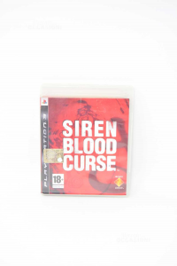 Video Game Ps3 Siren Blood Curse With Manual