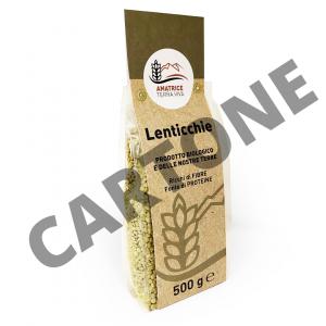 CARTONE Lenticchie
