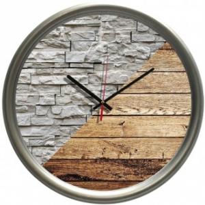 Orologio Da Parete 38 cm Decorazione Effetto Pietra Effetto Legno Stravagante Da Cucina Casa Arredare