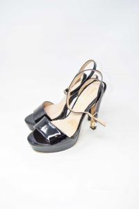 Sandals Woman Tata N° 40 In Patent Leather