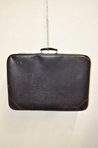 Valigia Nera Vintage 46x65x18 Cm