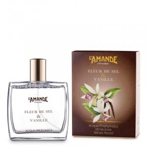 L'Amande, Acqua Profumata No Alcool 100ml Fleur de Sel & Vanille