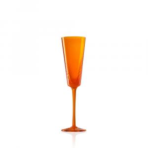 Flute Gigolo Rigadin Ritorto Arancio