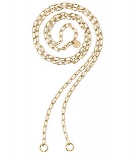 2Jewels Collana Lock 'n' Chain - Ovali Gold