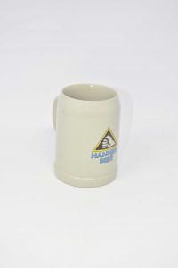 Boccale Birra Ceramica Hannen Bier 0.5lt