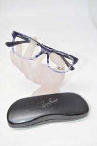 Mount Glasses Rayban Kids Grey Blue Gradient Rb 1536 3730 48 16 130