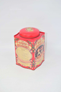 Box The Tin The Marquess Of Queensberrys Red 15x9.5x9.5 Cm