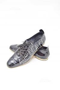 Shoes Woman Emporio Armani Black Glossy N° 40