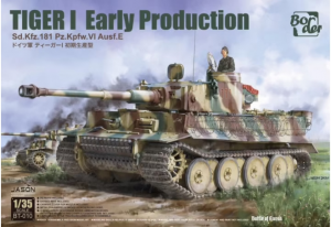 Pz.Kpfw.VI Ausf.E Sd.Kfz.181 Tiger I Early Production