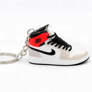 Air Jordan 1 retro high Shadow Grey portachiavi sneaker da collezione