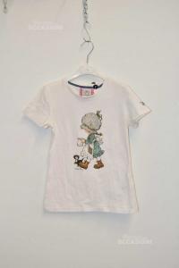 T-shirt Baby Girl Fixdesign Size S White Sarah Kay