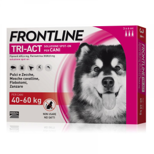 FRONTLINE TRI-ACT PER CANE 40-60KG 3 FIALE SPOT-ON