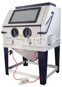 Sabbiatrice cabina di sabbiatura pallinatrice professionale con aspiratore SOGI S-218
