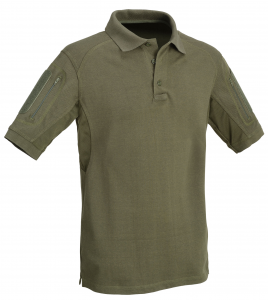 Polo shirt sleeves with pockets