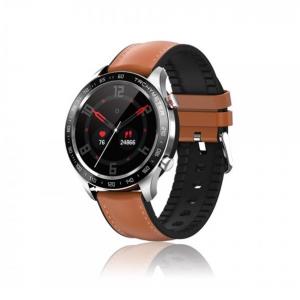 Orologio Smartwatch David Lian silicone marrone Londra DL111