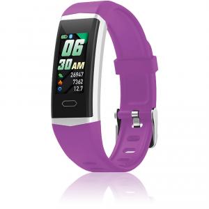 Orologio Smartwatch David Lian Hong Kong silicone viola  DL125