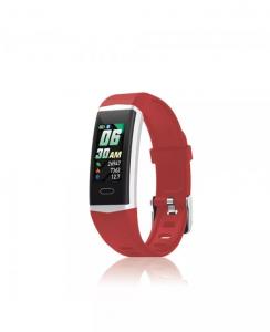 Orologio Smartwatch David Lian Hong Kong silicone rosso DL124