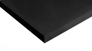 Mensola Ripiano in Truciolato Nobilitato Nero - Spessore: 18mm - Bordata su 4 lati - Scegli tu le misure!