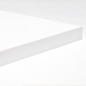 Mensola Ripiano in Truciolato Nobilitato Bianco - Spessore: 18mm - Bordata su 4 lati - Scegli tu le misure!