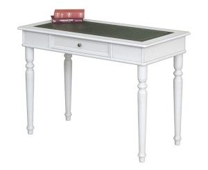 PROMO! Lacquered desk with leather top