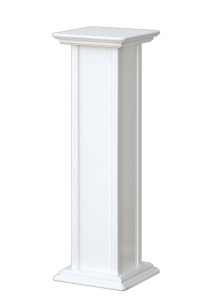 PROMO! Pedestal stand in wood, 80 cm tall