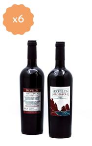 Box 6 Bottiglie Skopelos Nero D'Avola