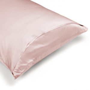 Federa in Pura Seta Colore Rosa