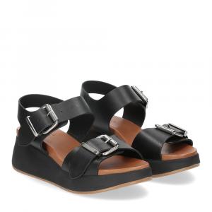 Inuovo Sandalo 768001 pelle nera