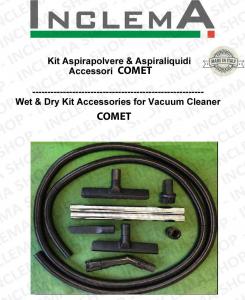 KIT tubo flessibile e Accessori Aspirapolvere & Aspiraliquidi per CVP 130 X marca Comet-2
