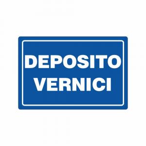 Cartello Deposito Vernici