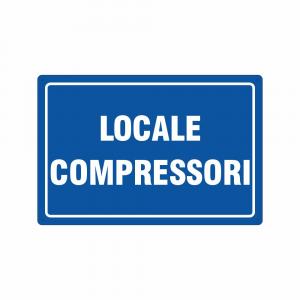 Cartello Locale compressori