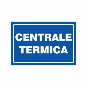 Cartello Centrale termica