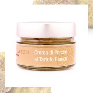 Crema di Funghi Porcini al Tartufo Bianco - 45/90/190g