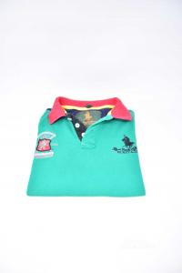 Polo Bambino Polo Club Verde Gialla Nera Rossa 12 Anni
