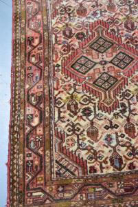 Carpet Iran 120x76 Cm Green Red Brown Beige
