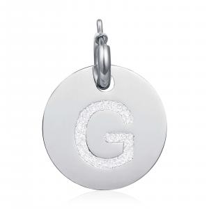 Luca Barra - Charm lettera G glitter
