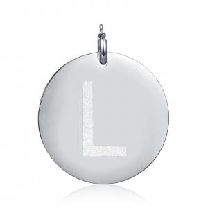 Luca Barra - Charm lettera L glitter