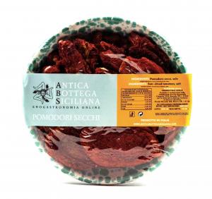 Coppetta in ceramica con pomodori secchi