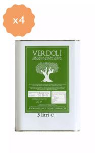 Box 4 latte 3 litri Verdolì