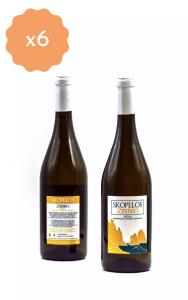 Box 6 Bottiglie Skopelos Zibibbo