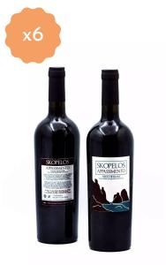 Box 6 Bottiglie di Skopelos Appassimento