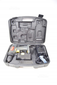 Screwdriver Drill Yamato Mod.da12223 12v Cod.90112 With Case And Chrger