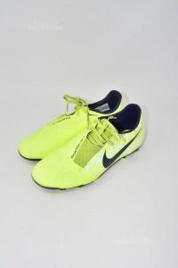 Scarpe Da Calcetto Nike Gialle Fluo N.40.5