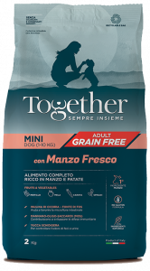 TOGETHER MINI ADULT MANZO PATATE 800 GR.