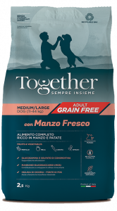 TOGETHER M/L ADULT MANZO E PATATE  2,5 KG.