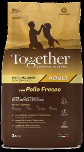 TOGETHER M/L ADULT POLLO E RISO  2,5 KG.