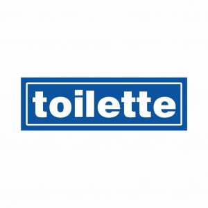 Cartello Toilette